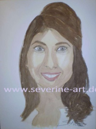 3. Aquarell Portrait